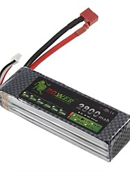 Leeuw 11.1V 2800mAh 35C Lipo Battery Power voor RC Model Car Helicopter 450 3D (T Plug)