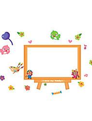 Cartoon Monkey White Board Stickers, Decorative Stickers