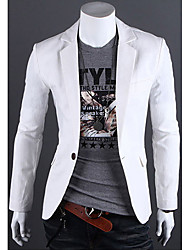 Men's Pure Color Blazer