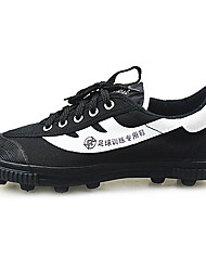 World Cup Top Wearproof Training Soft Spike Canvas Soccer Shoes
