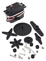 SM-S4315R analógica cobre engrenagem Robot Servo com Dual Bearing (360 °)