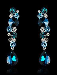 Tango Fashion Jewelry Rhinestone Studs/Earrings(Blue,Green,WhiteEZ0133)