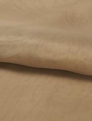 """pays tissu polyester solide beige (tissu de poids-léger) - width = 110 """"(280 cm)"""