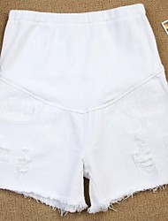Maternity Casual Shorts Pants , Cotton Inelastic