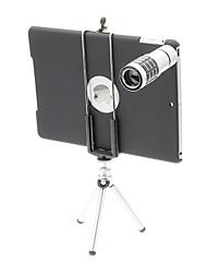 12X телефото Алюминий мобильного телефона объектива с треногой для Ipad 5/Air