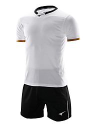мужские короткий рукав футбол спортивные костюмы (белый и черный / Германия)