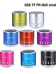 Hi-Fi Mini Speaker TF Audio Amplifier MP3/4 Player FM Radio Portable USB Speaker-(Seven Color Optional)