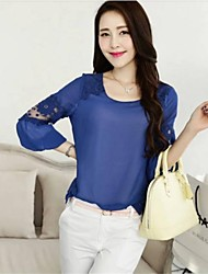 Frauen New Fashion Sexy Chiffon-Bluse
