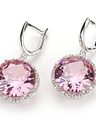 Earring Drop Earrings Jewelry Party / Daily / Casual Silver Plated Silver