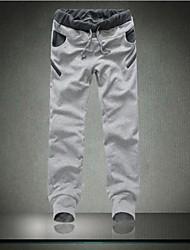 Men's Casual Contrast Color Sport  Pant