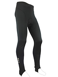 Santic - Men's Cycling Skins Pants A400 Calf Tight With Stirrup Winter 2011 Black Color