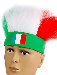2016 championnat de football européen italie ventilateurs cosplay bandeau