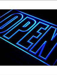 i097 OPEN Shop Display Cafe Business Neon Light Sign