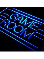 I338 QUARTO JOGO Mostra Brinquedos TV Luz Neon Sign