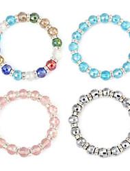 Aspect balle bracelet en cristal souple (1pc)