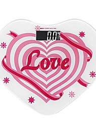 Горячий продавать форме сердца Дизайн кузова весы Масса
