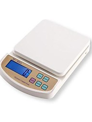 LCD Digital Kitchen Scale (5kgx1g, 2xAA batterie)