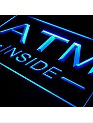 Innerhalb der I-565 ATM Anzeige Lure NEU Neonlicht-Zeichen