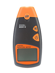 Handheld MD812 Digital Wood Moisture Meter with LCD Display (2%-40%RH,1%RH)