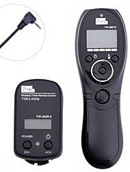 PÍXELES TW-282/E3 temporizador de control remoto inalámbrico para Canon Samsung