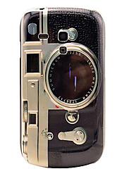 Retro-Kamera-Pattern Festplatte zurück Fall für Samsung Galaxy S3 I8190 Mini