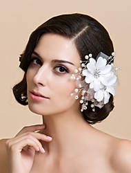 Women's/Flower Girl's Satin Headpiece - Wedding/Special Occasion Flowers