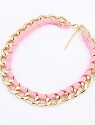 Женское модное флуоресцентное ожерелье