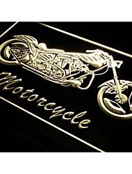 I642 bici de la motocicleta Servicios Ventas luz de neón