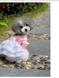 Hunde Kleider Rosa Hundekleidung Sommer Blumen / Pflanzen