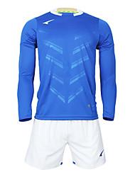 мужские футбольные длинный рукав костюмы (синий и белый / Франция)