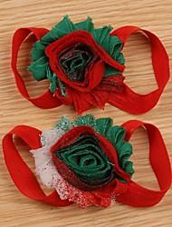 Pretty Baby nouveau-nés des enfants filles adorables de fleur de pied de bande Cravates Barefoot Sandales