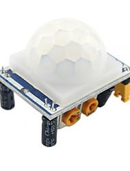 USD $ 2,98 - HC-SR501 Stellen IR pyroelektrische Infrarot PIR Motion Sensor-Detektor-Modul für Arduino