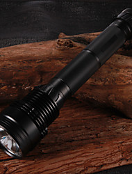RUSTU R50 Xenon HID R85 4500LM 50W 2-Mode White Rechargeable Flashlight