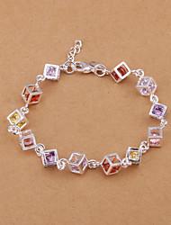 Meles Women's Check Bracelet