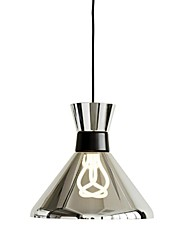 MAX 60W Pendant Light ,  Modern/Contemporary Painting Feature for Mini Style Glass Bedroom / Dining Room