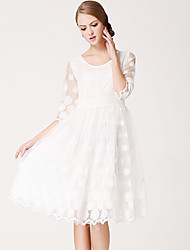 Women's Dresses , Lace Roumay