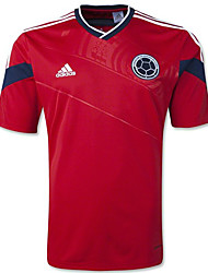 2014 World Cup World Cup Jerseys Columbia Visiting Game Red