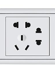 3-Pin Y Doble 2-Pin Plug Socket