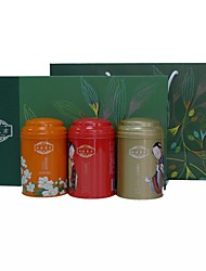 Wu Yu Tai ® Narural Zero-Calorie  Loose Leaf  Tea, Tin Cans Three in One Gift Boxes