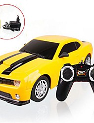 1:22 Radio Control Car  4CH Yellow LED headlights