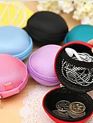 bola de color cambio de diseño sólido monedero (color al azar)