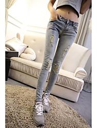 Jeans casuali delle donne