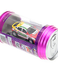 1:63 Coke Can Mini RC Radio Racing Car With LED