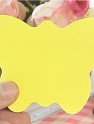 en forma de mariposa nota autoadhesiva (100 páginas)