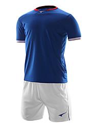 мужские короткий рукав футбол спортивные костюмы (синий и белый / италия)