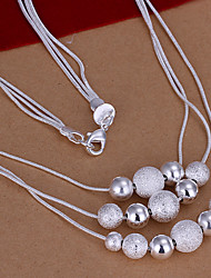 Meles Women's Fashion Beads Necklace