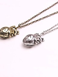 Jewelry Pendant Necklaces / Vintage Necklaces Wedding / Party / Daily / Casual Alloy Women Bronze / Silver Wedding Gifts