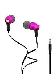 Fashion awei 800M 3.5mm Plug In-Ear Aluminium Super Bass koptelefoon-(Acht kleuren)