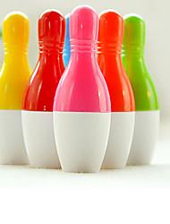 красочный боулинг форме шариковой ручки (случайный цвет)