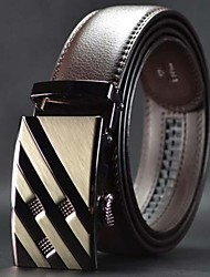 Belt Couro Moda High Grade automática Buckle Masculina